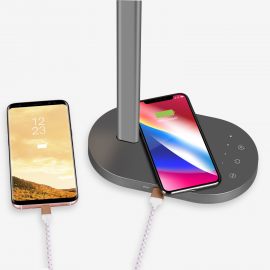 Momax Q.LED Desk lamp with wireless charging base
