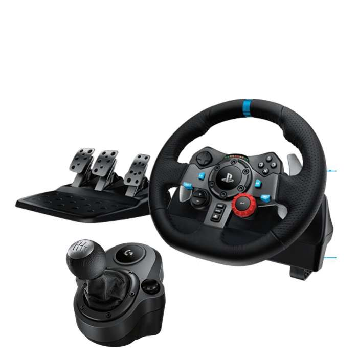 LOGITECH G29 Driving Force with Gear Shifter for PS3 / PS4