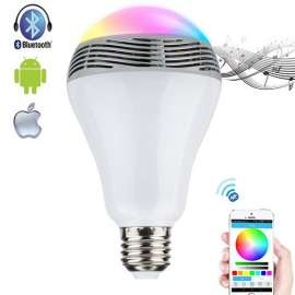 Bluetooth Speaker LED Light Bulb Setup