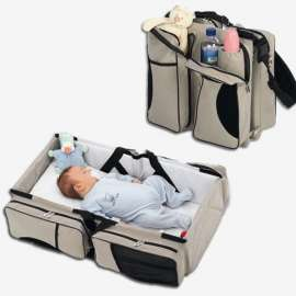 Baby Travel Bed and Magical Baby Bag- 9 in 1