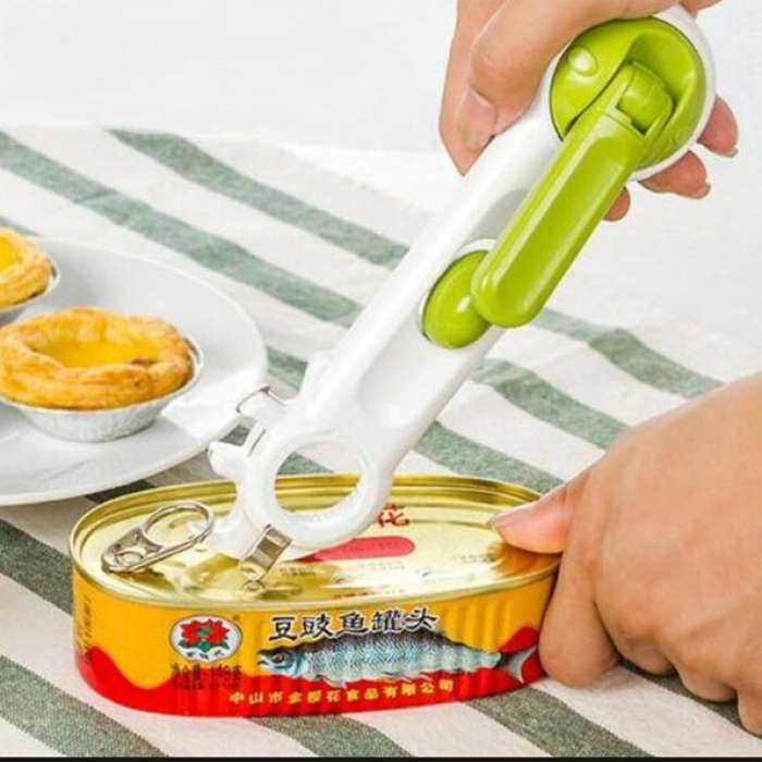 6 In 1 Stainless Steel Kitchen Can Opener