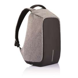 Anti Theft USB Interface Backpack - Grey