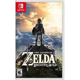 Switch Nintendo-The Legend of Zelda: Breath of the Wild