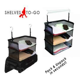 Shelves-To-Go Packable