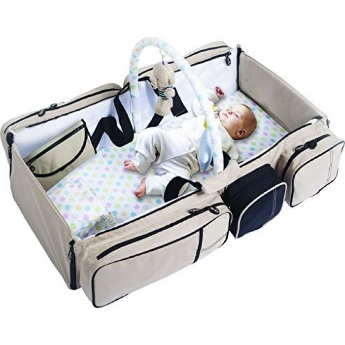 9 in 1 Multi functional  Travel Bed & Bag For Baby