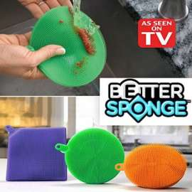 Better Sponge: Multi-Purpose Sponge, Gripper, Oven Mitt, and Pet Hair Collector