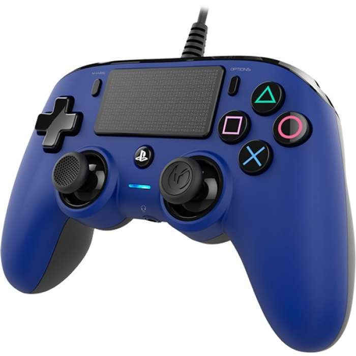 NACON Compact Wired Controller for PlayStation 4 - Blue