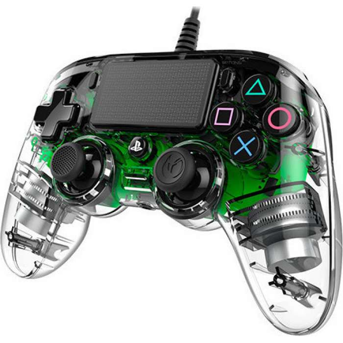 NACON Compact Wired Controller for PlayStation 4 - Crystal green