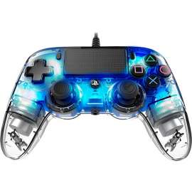 NACON Compact Wired Controller for PlayStation 4 - Crystal Blue