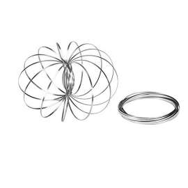 Magic Ring Flow Rings, Kinetic Spring Toy