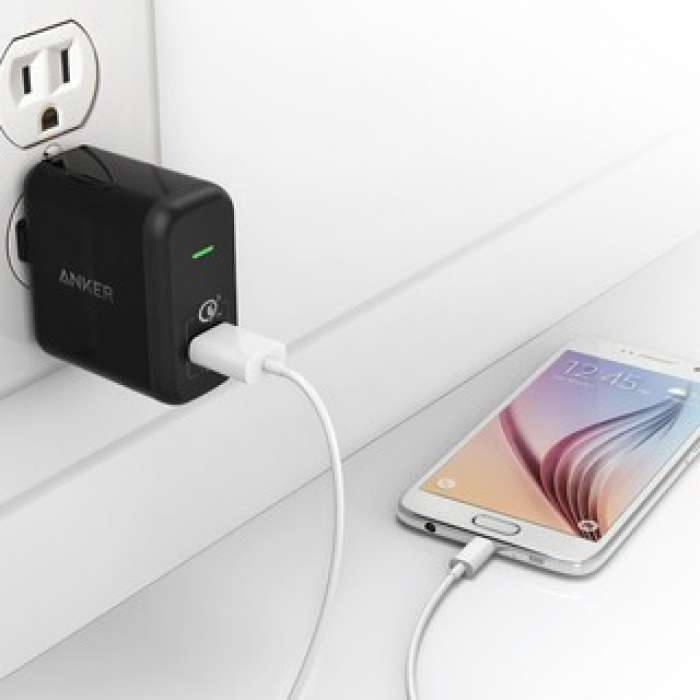 Anker PowerPort+ 1 with Quick Charge 3.0 and IQ