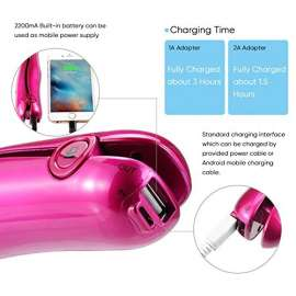 Hair Straightener with Power Bank Function
