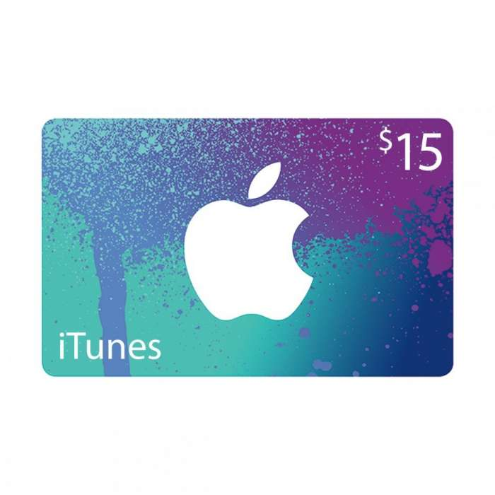 iTunes Gift Card $15 - Us