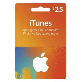 iTunes Gift Card $25 - Us