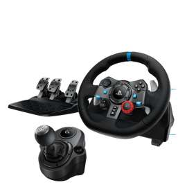 LOGITECH G29 Driving Force Racing Wheel with Gear Shifter for PS3 / PS4