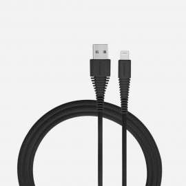 Momax Tough Link Lightning Cable 1.2m -  Black (DL8D)