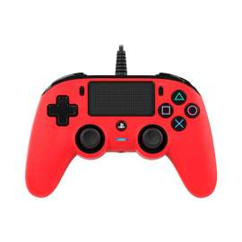 NACON Compact Wired Controller for PlayStation 4 - Red
