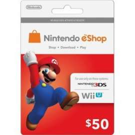 Nintendo Eshop Card $50 - Us